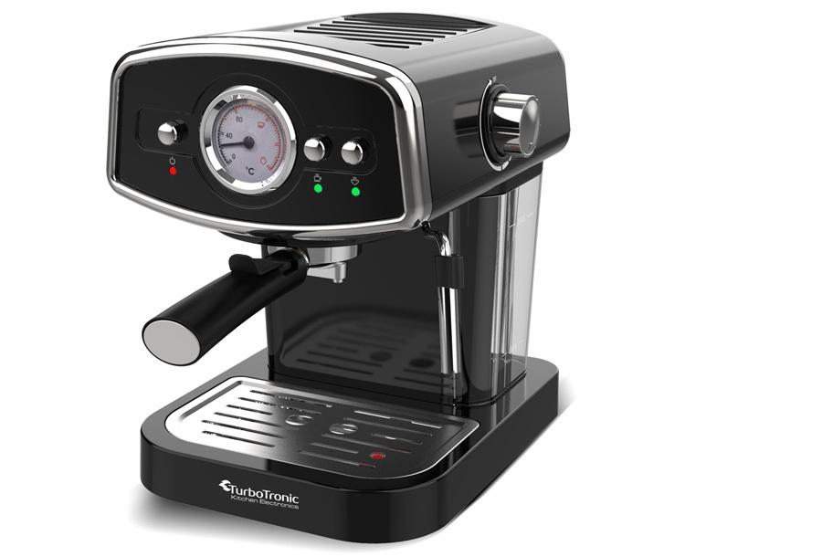 TurboTronic espressomachine Zwart