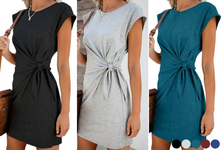 Basic zomerjurk | Strik jurk in 5 hippe kleuren