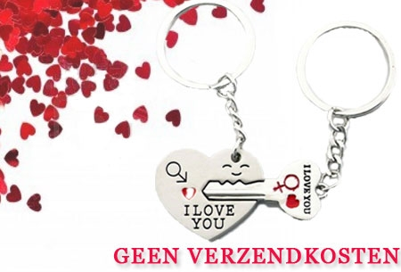 valentijn sleutelhanger