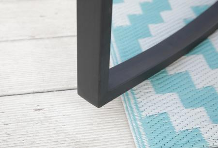 Rotan schommelstoelen | Set van 2 schommelstoelen en bijpassend tafeltje