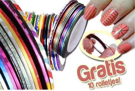 Wees creatief met deze nail-art tape: 10 tape rolletjes nu GRATIS!