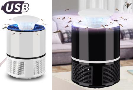Muggenvanger lamp | Vangt effectief en eenvoudig vliegende insecten!
