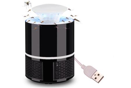 Muggenvanger lamp | Vangt effectief en eenvoudig vliegende insecten! Zwart