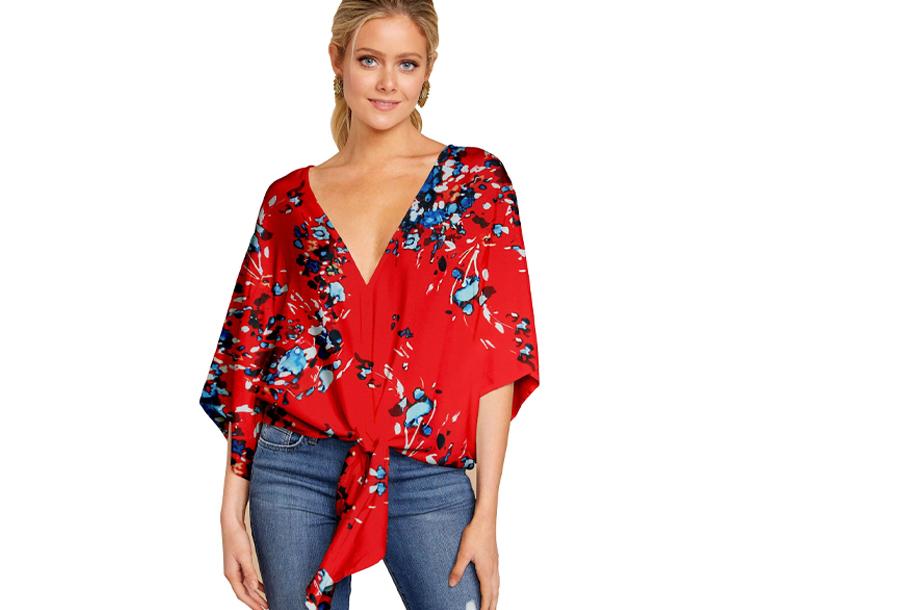 Oversized blouse - Maat M - #F