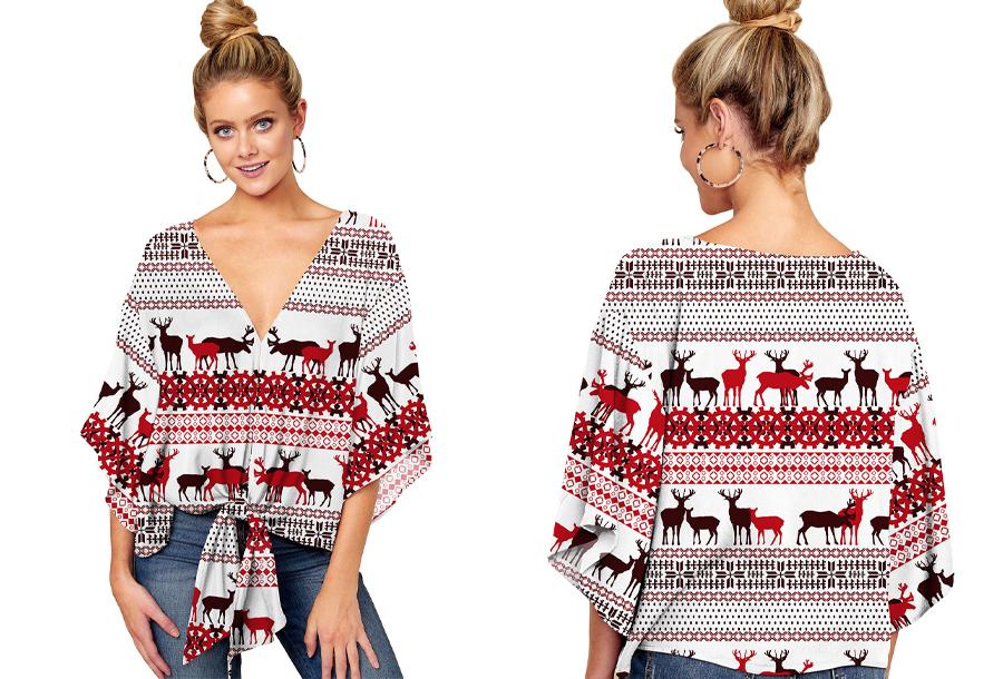 Oversized blouse - Maat S - #K