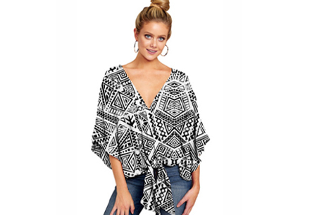 Oversized blouse - Maat S - #L