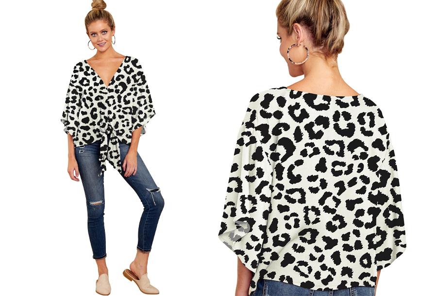 Oversized blouse - Maat S - #M