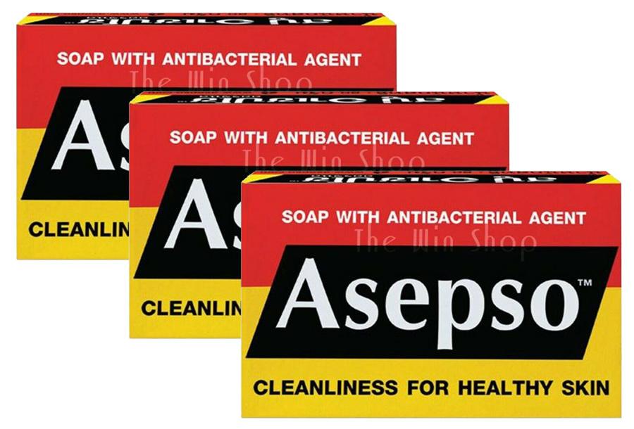 3x Asepso desinfecterende handzeep