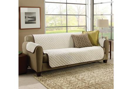 Couch Coat   Bescherm je bank tegen vuil en haren met deze dubbelzijdige grand foulard