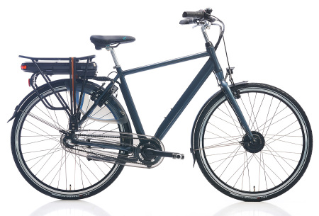 Shimano elektrische fietsen voor dames en heren | Stijlvolle E-bikes in diverse kleuren en maten Antraciet metallic