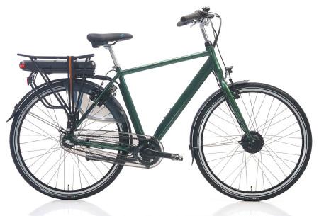 Shimano elektrische fietsen voor dames en heren | Stijlvolle E-bikes in diverse kleuren en maten Groen metallic
