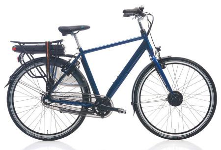 Shimano elektrische fietsen voor dames en heren | Stijlvolle E-bikes in diverse kleuren en maten Donkerblauw metallic