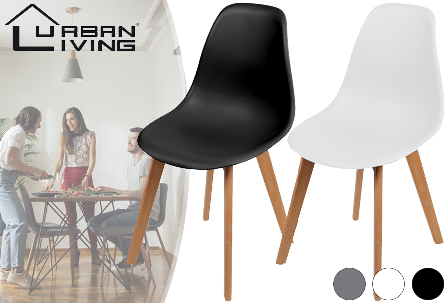 Urban Living kuipstoel - stijlvolle eetkamerstoel