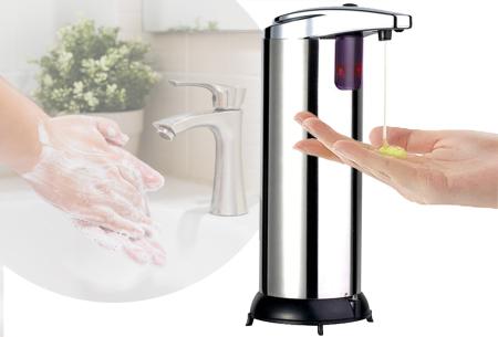 Zeepdispenser met sensor | Automatische zeeppomp voor ultieme hygiëne
