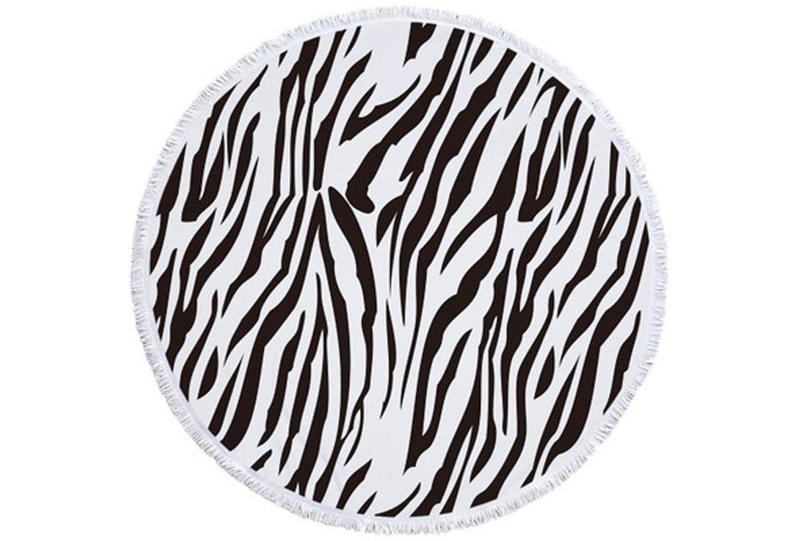 Rond kleed #3 Zebra