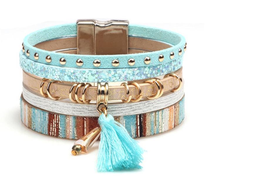 Ibiza armbanden Blauw - Model A