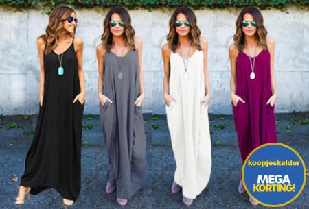 Oversized summer dress | Losvallend, vrouwelijk en stijlvol