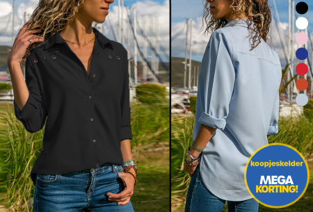 Everyday blouse | Casual blouse voor iedere dag