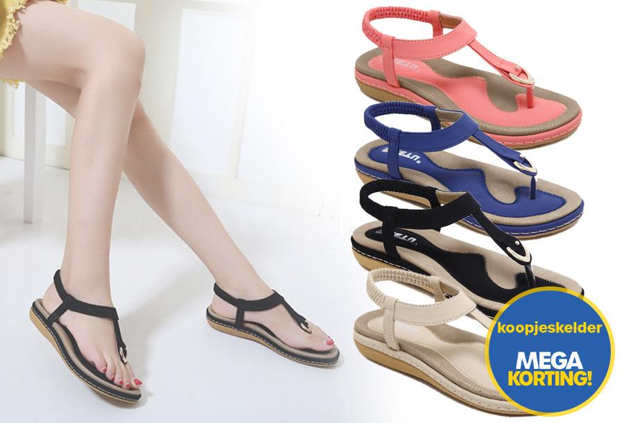 Comfy slippers met korting