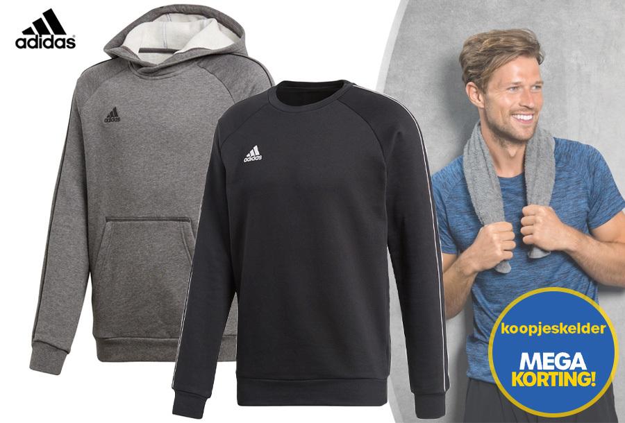 35% korting - Adidas sweater of hoodie voor heren