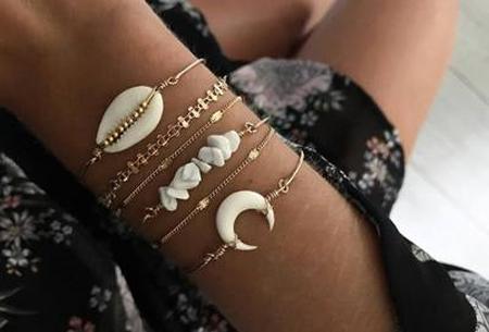 Bohemian armbandenset | Stijlvolle armbandjes in 14 varianten #1