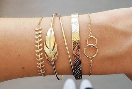 Bohemian armbandenset | Stijlvolle armbandjes in 14 varianten #4