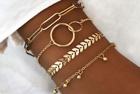 Bohemian armbandenset | Stijlvolle armbandjes in 14 varianten #5