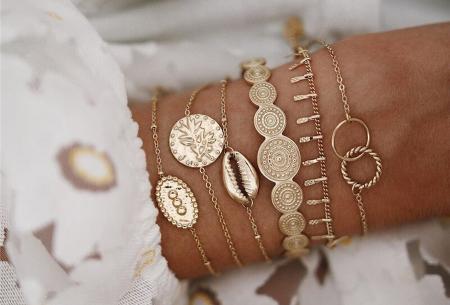 Bohemian armbandenset | Stijlvolle armbandjes in 14 varianten #7