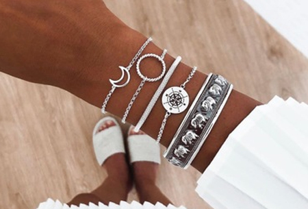 Bohemian armbandenset | Stijlvolle armbandjes in 14 varianten #11