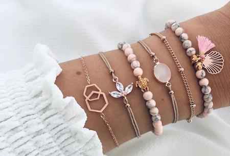 Bohemian armbandenset | Stijlvolle armbandjes in 14 varianten #12