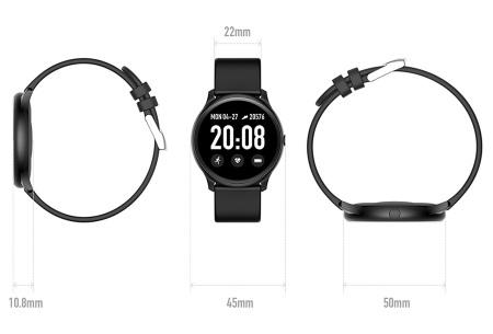 Smartwatch voor dames en heren | Smart horloge met o.a. gps-, hartslag- en bloeddrukfunctie!