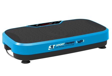 SportTronic trilplaat | Gemakkelijk thuis sporten met dit fitnessapparaat Blauw