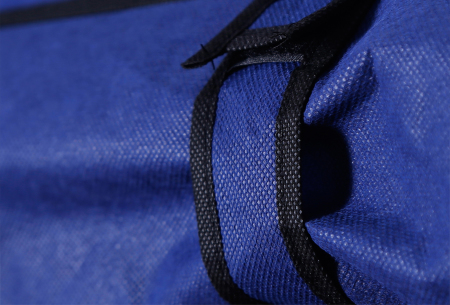 Herzberg opbergkast | Stoffen garderobekast met oprolbare deur