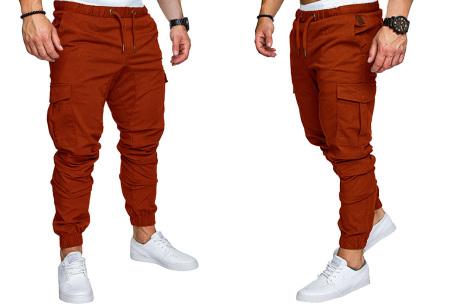 Cargo broek | Lange broek voor heren - In 10 kleuren Bruin