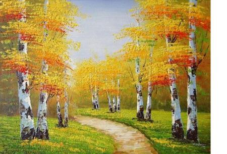 Diamond painting herfst pakket | De mooiste natuur en landschappen in najaarstinten #3