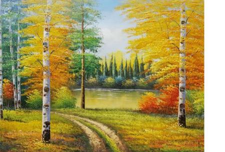 Diamond painting herfst pakket | De mooiste natuur en landschappen in najaarstinten #8
