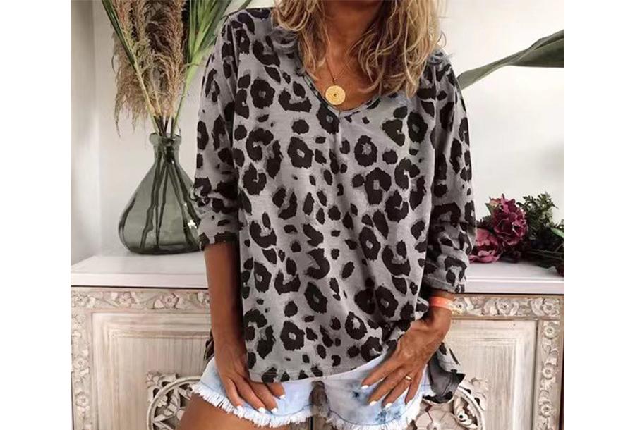 Lange mouwen shirt - Maat 2XL - Grijs