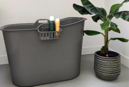 Bath Bucket mobiele badkuip   Plastic zitbad voor volwassenen