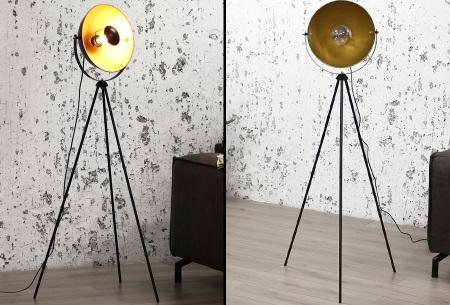 Industriële staande lampen | Stoere vloerlampen - In 5 verschillende uitvoeringen Fallon