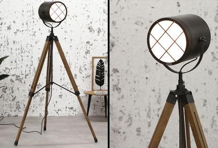 Industriële staande lampen | Stoere vloerlampen - In 5 verschillende uitvoeringen Payson