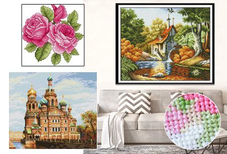 Borduurpakket | Maak de mooiste schilderijen met deze complete borduurset