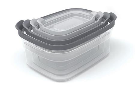 Joseph Joseph keukenaccessoires | Snijplanken sets, vershoudbakjes en mengkommen Vershoudbakjes