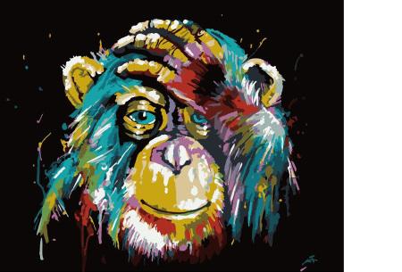 Schilderen op nummer | Kleurrijke schilderijen maken - keuze uit 17 dieren #4