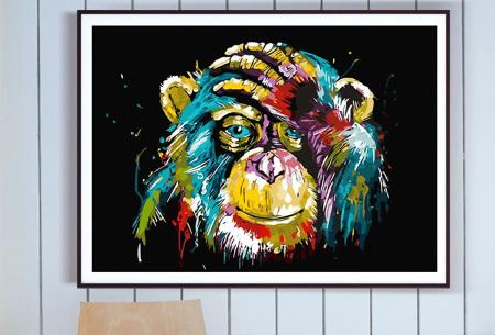 Schilderen op nummer | Kleurrijke schilderijen maken - keuze uit 17 dieren