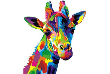 Schilderen op nummer | Kleurrijke schilderijen maken - keuze uit 17 dieren #16