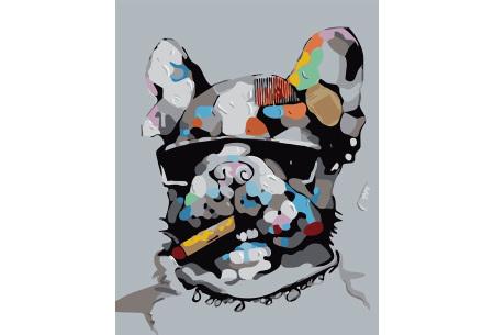 Schilderen op nummer | Kleurrijke schilderijen maken - keuze uit 17 dieren #12