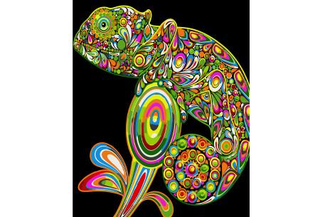 Schilderen op nummer | Kleurrijke schilderijen maken - keuze uit 17 dieren #11