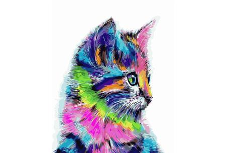 Schilderen op nummer | Kleurrijke schilderijen maken - keuze uit 17 dieren #7