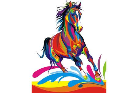 Schilderen op nummer | Kleurrijke schilderijen maken - keuze uit 17 dieren #9