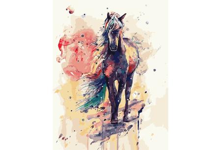 Schilderen op nummer | Kleurrijke schilderijen maken - keuze uit 17 dieren #13